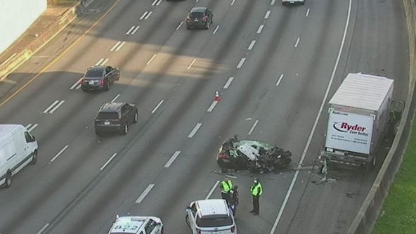 Accident on Downtown Connector closes northbound lanes, officials say