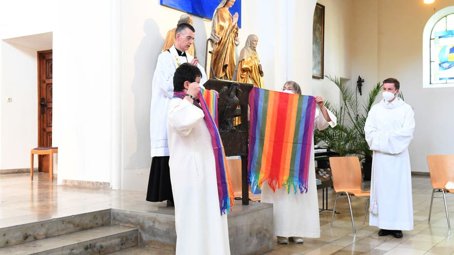Blessing of homosexual couples in Munich