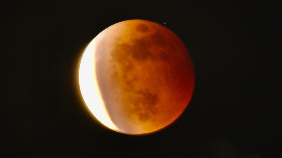 TAIWAN-SCIENCE-ASTRONOMY-MOON-ECLIPSE