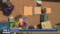 Community mourns cashier killed by gunman