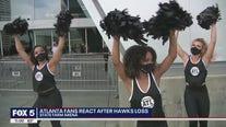 Hawks fans react to loss