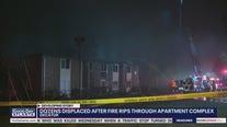 DeKalb County apartment fire displaces dozens