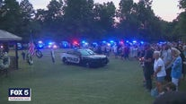 Community gathers to remember fallen officer