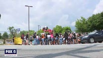 Family, friends, and protestors remember Rayshard Brooks
