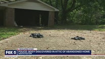 Body found at abandoned home