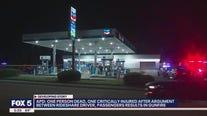 Argument between rideshare driver, passenger leads to gunfire