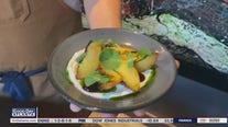 Chef John Castelluci shares his grilled peaches recipe