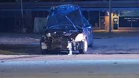 Gunfight in DeKalb County leaves man injured, causes wreck
