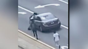 Atlanta teens seen climbing on moving car, trying to sell driver a bottle of water
