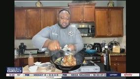 Cast Iron BBQ Butter Ribeye recipe