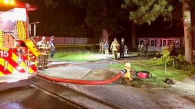 Fire crews investigating blaze at vacant DeKalb County office