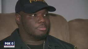 'That pain of the car going over me comes right back': College Park officer faces long recovery