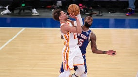 Young scores 36 points, Hawks finish off Knicks in Game 5