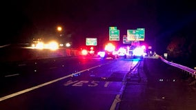 Man killed after crashing into tractor-trailer on I-285