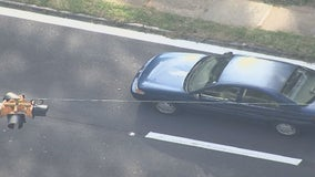 Driver cited after hitting young girl in crosswalk, police say