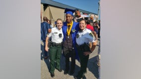 Hillsborough teen invites deputy to graduation after rear-ending patrol car on I-4