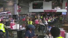 Mercedes-Benz Stadium vaccination site surpasses 300,000th dose on final day