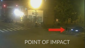 Alpharetta police working to ID driver that struck two pedestrians