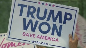 Trump supporters continue to push unproven claim of election fraud at Alpharetta event