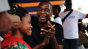 Hawks All-Star Dikembe Mutombo backs using drones to deliver COVID-19 vaccine