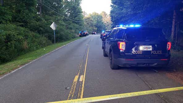 Cobb County officer shot, hospitalized; suspect later shot and killed, police say