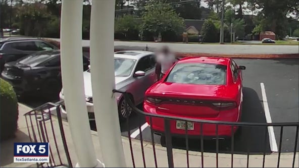 'I have no idea what he was thinking': Toddler in car of break-in suspect with 'gun and drugs', police say