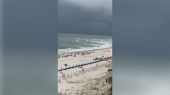 Tropical Storm Claudette threatens Gulf Coast with flash floods, tornadoes