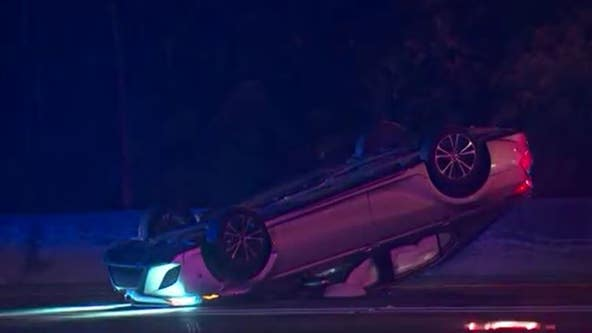 Driver hit and killed after Downtown Connector crash