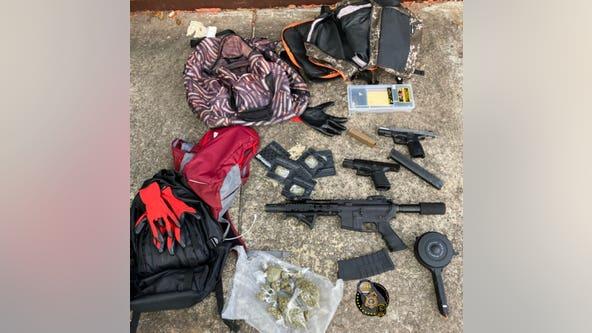 AR-15, handguns claimed from burglary suspects, DeKalb police say