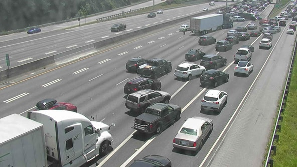 Gwinnett County crash closes all southbound lanes on I-85, officials report