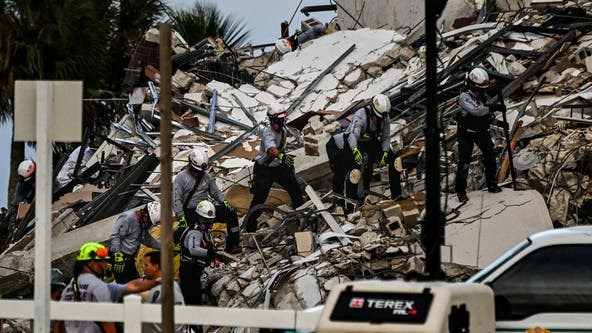 Miami-area condo collapse: At least 4 dead, 159 missing as search for survivors continues
