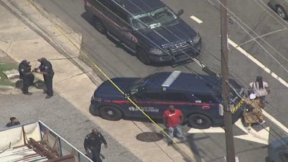 Police investigating shooting at gas station on MLK Jr. Drive