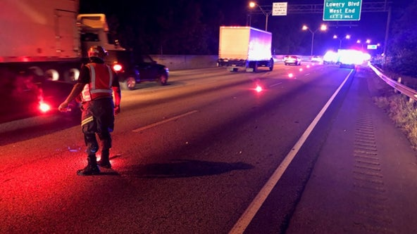 Man shot while driving on I-20, police say