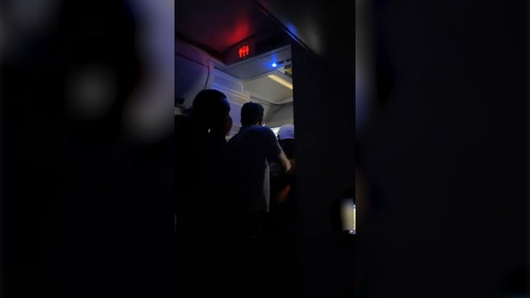 Delta crew, passengers detain unruly man, prompting emergency landing