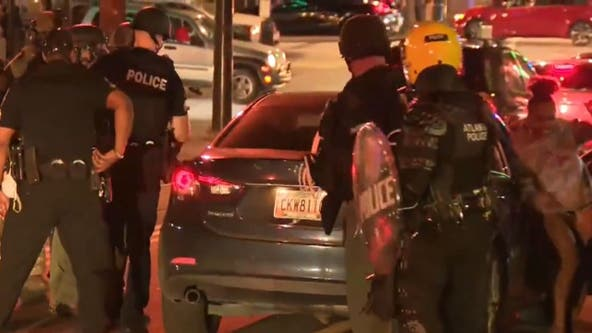 Atlanta students pulled from car file lawsuit against city, officers