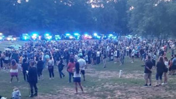 'This has crushed our community': Holly springs community gathers to honor fallen officer