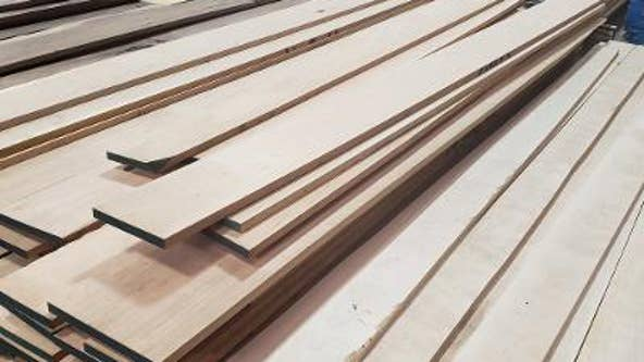 Thieves swiping lumber from construction sites