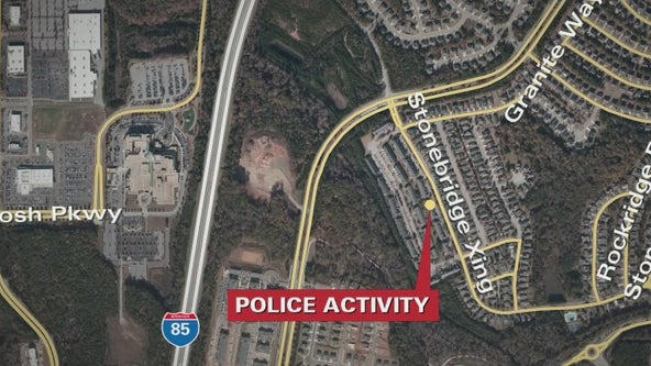 Man barricaded inside Newnan home after shooting son, police say