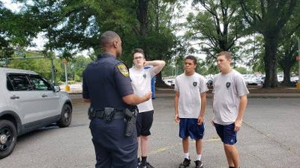 Dunwoody police hosts inaugural teen police academy