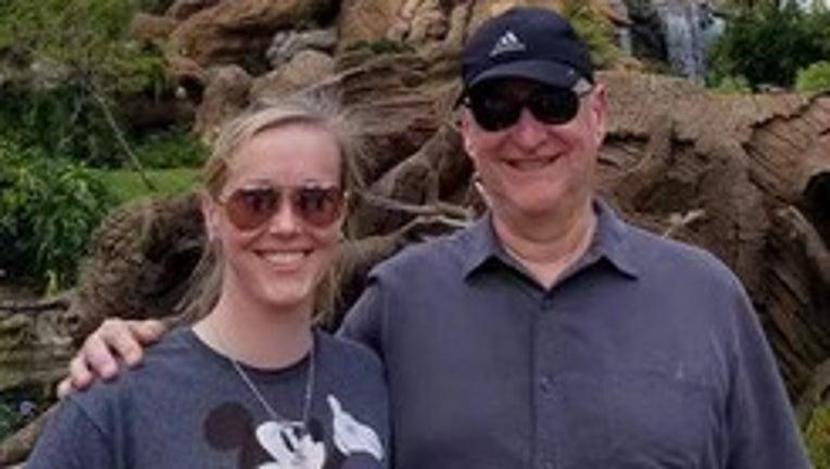 Dave Fleisher and his daughter, Sarah