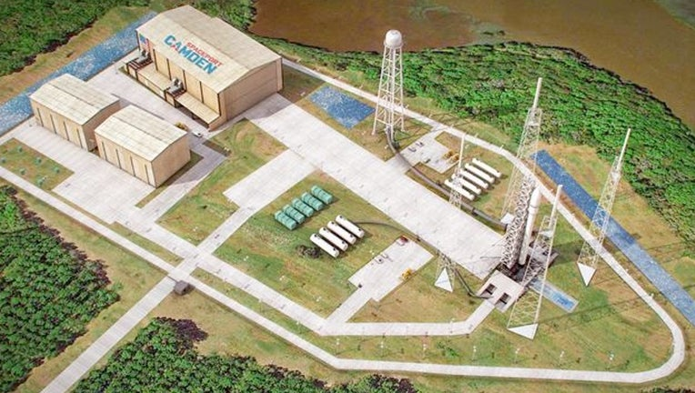 Completion of an environmental assessment for the proposed Spaceport Camden in Georgia has been delayed to as late as April 20, with a final decision on its FAA license application pushed back to June. Credit: Spaceport Camden