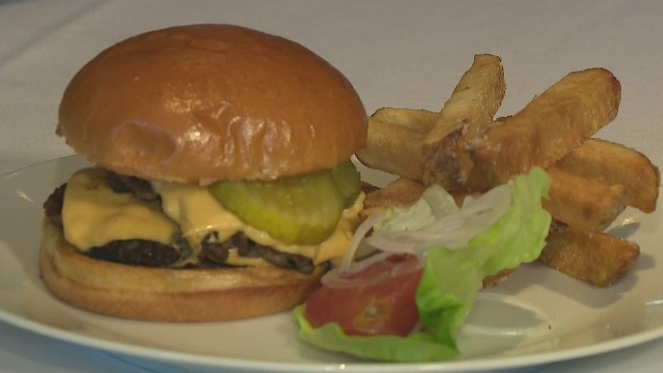 Aria, the historic upscale, white table cloth, Buckhead restaurant on East Paces Ferry Road, is adding a burger to the menu: The Aria Happy Hour Burger.