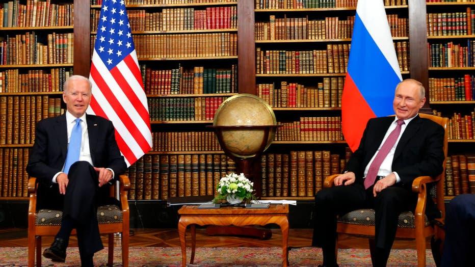 US-Russia Summit 2021 In Geneva