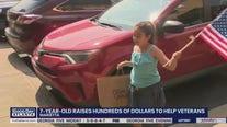 Marietta girl raises hundreds of dollars to help veterans