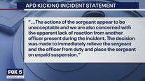 Reaction to video showing Atlanta sergeant kicking woman