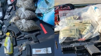 DeKalb police confiscate marijuana, weapons, cash at two separate traffic stops