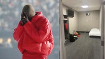 Kanye West shares photo of his room in Mercedes-Benz Stadium