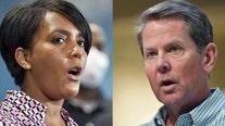 Kemp takes jab at Atlanta mayor's mask mandate