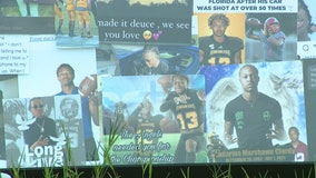Friends, coaches gather for vigil to remember a KSU student who was killed in Florida