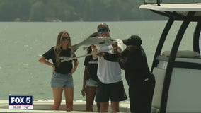 Falcons hold 13th annual Fishing With The Falcons charity event